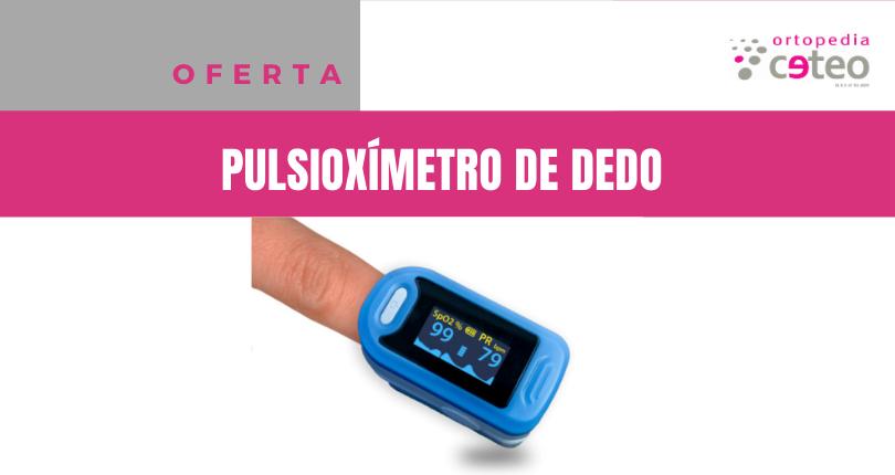 OFERTA: Pulsioxímetro de dedo