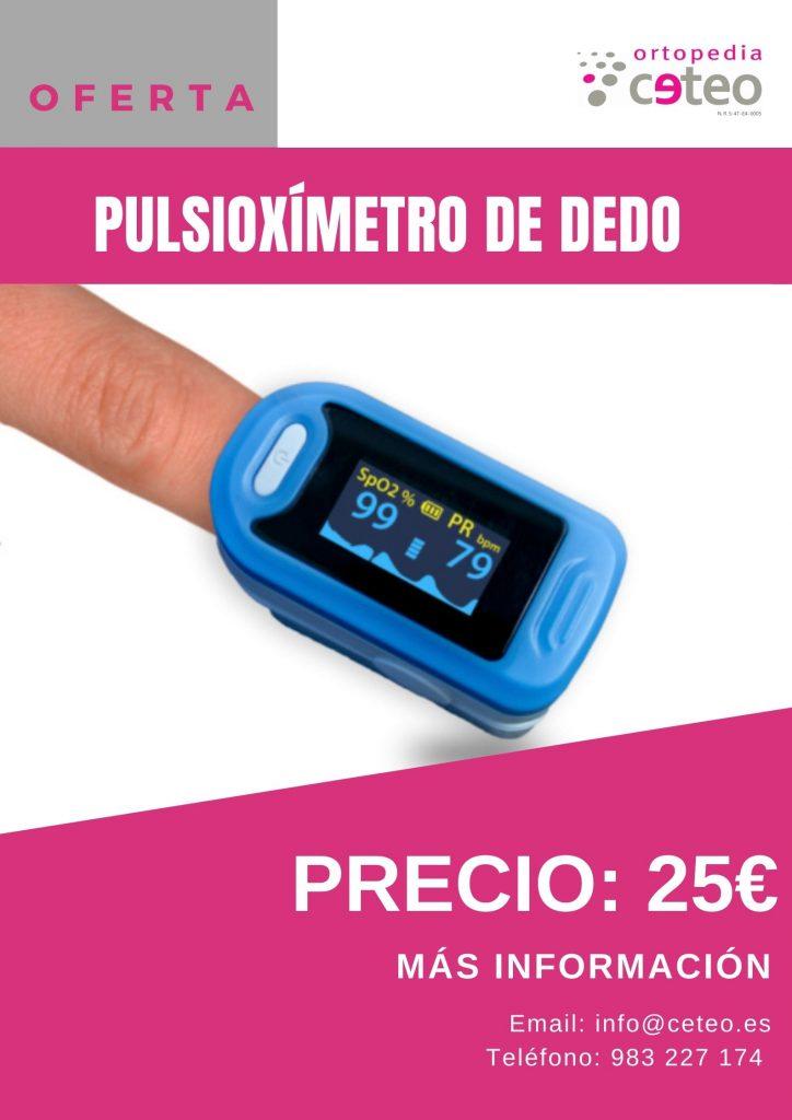 Pulsioxímetro de dedo 25€