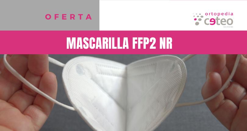 Oferta: mascarilla FFP2 NR